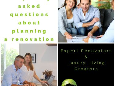 Top 12 FAQ's for planning a renovation