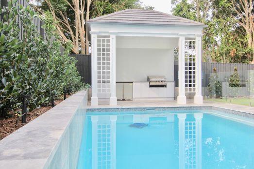 Pool hut back yard