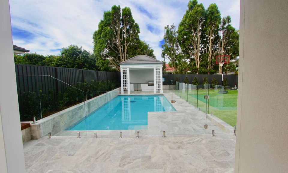 Pool house and Patio Coorparoo