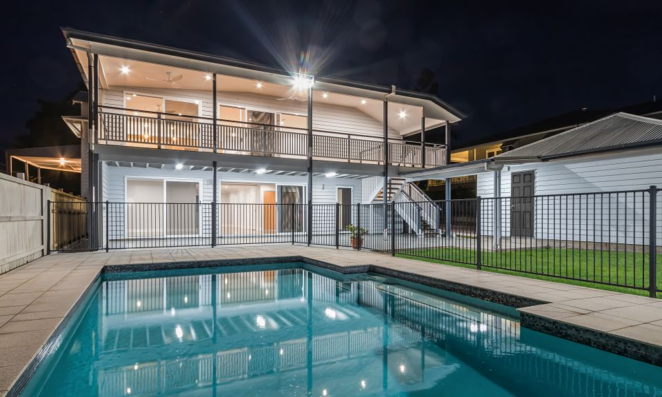 Norman Park Project 3 - Rear and Pool